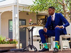 Sbu Ngwenya lets us in on his socks business