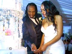 A bejewelled wedding for Akona Ndungane and Siyanda Stofile