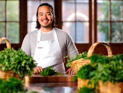 Adam Liaw talks Cooking, Success and Granny