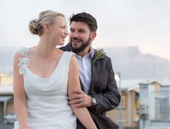 Adventure couple Riaan Manser and Vasti Geldenhuys ties the knot