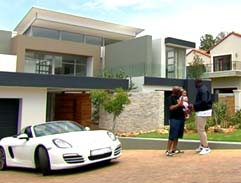 At home with DJ Sbu