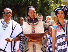 Ayanda Ballensiefen dazzles in a trio of dresses