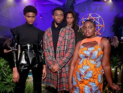 Black Panther inspired fashion at New York Fashion Week