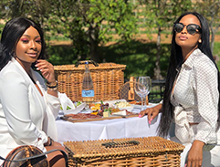 Boity Thulo and Ayanda Thabethe enjoy a luxury Cape Town getaway