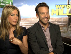 Bonang interviews the cast of We're the Millers