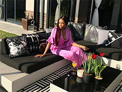 Bonang Matheba invites Top Billing into her new home