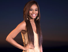 Bonang's stunning gold 20ies inspired dress