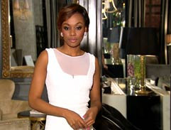 Bonang's white dress