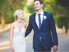 Bulls rugby player Jurgen Visser ties the knot