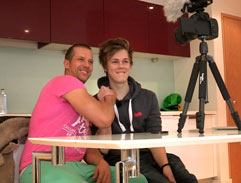 Caspar Lee chats to Top Billing