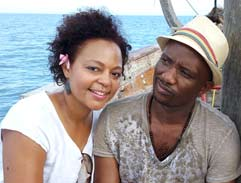 David Kau goes on a baecation in Zanzibar
