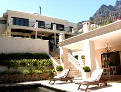 Debbie Hall's luxurious Camps Bay home
