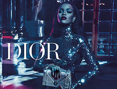 Dior Secret Garden featuring Rihanna