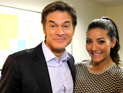 Jeannie D meets Dr Oz