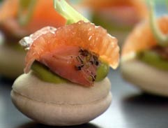 Easy entertaining canape recipes
