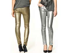 Fashion Tip: Metallic Trousers
