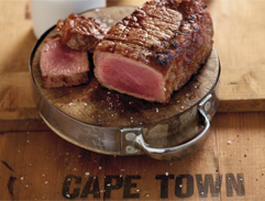 Fillet steak - Jan Braai's way