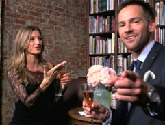 Janez meets supermodel Gisele Bündchen in New York