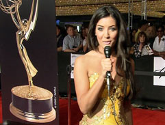 Jeannie D Attends the Emmy Awards