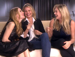 Jonathan meets Cameron Diaz, Kate Upton and Leslie Mann