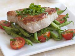 Justine's Seared Mediterranean Tuna