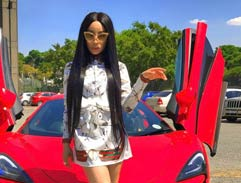Khanyi Mbau shares her journey to success and happiness