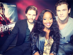 Lorna interviews Chris Hemsworth
