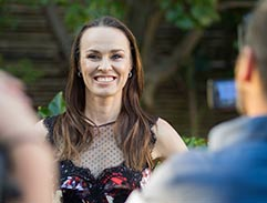 Martina Hingis and Edwin Moses lend a hand to MATCH foundation