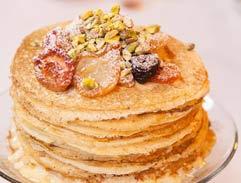 Milktart Pancake Stack