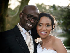 Minister Malusi Gigaba ties the knot