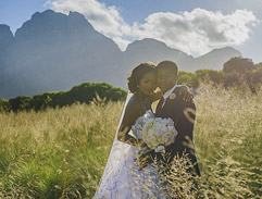 Model Rosette Mogomotsi and Lunga Ncwana tie the knot on Top Billing