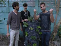 DIY: Permaculture Veggie Tower