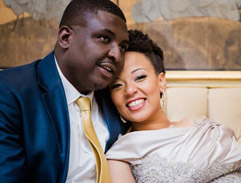 Peter Shivute and Tumi Sisulu tie the knot