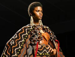 Spring fashion with Laduma Nqxokolo