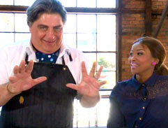 Top Billing and and Matt Preston eat breakfast the Australian way