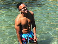Top Billing and Maps Maponyane explore Greece