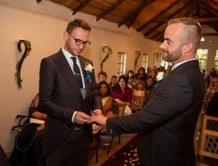 Top Billing Attends The Curson Prinsloo Wedding