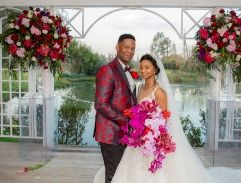 Top Billing attends the wedding of Tumelo Mokoena and Bheki Masango