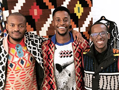 Top Billing celebrates Laduma Ngxokolos latest Maxhosa development