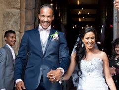 Top Billing features the wedding of Lions star Courtnall Skosan