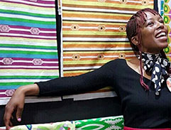 Top Billing features textile designer and entrepreneur Lesego Maloka