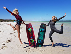 Top Billing features Kitesurfing Champion Michelle Sky Hayward