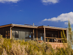 Top Billing features a beautiful container home getaway location