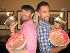 Top Billing has a bake off with Eric Lanlard