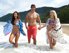 Top Billing heads to the Seychelles with Eben Etzebeth
