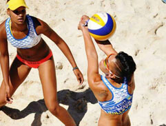Top Billing hits the sand court with Sheana Abrahams