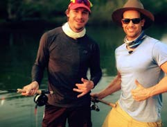Top Billing joins Dale Steyn on a fishing cruise