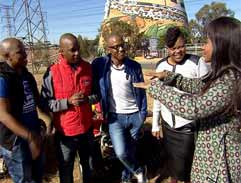 Top Billing joins The Soil for a day of fun in Soweto