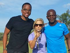 Top Billing meets father and son Maps and Marks Maponyane