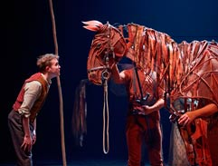 Top Billing meets the puppet stars of Warhorse
